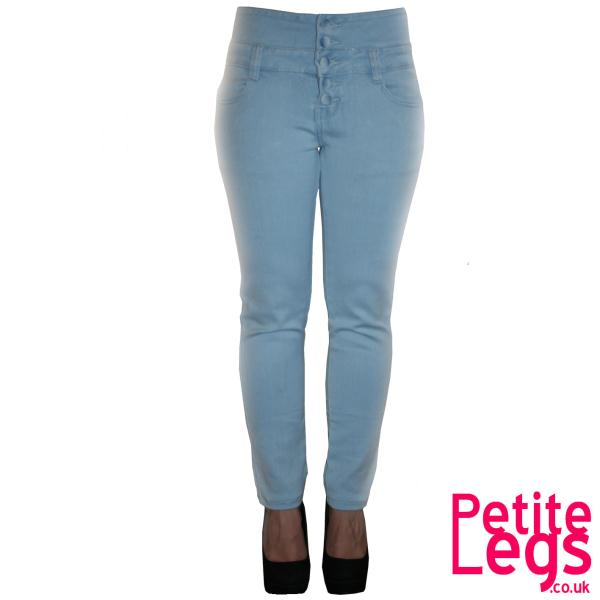 Millie High Waist Skinny Jeans UK Size 8 Petite Leg Inseam Select ...